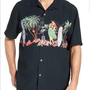 Tommy Bahama Mele Kalikimaka Camp Shirt